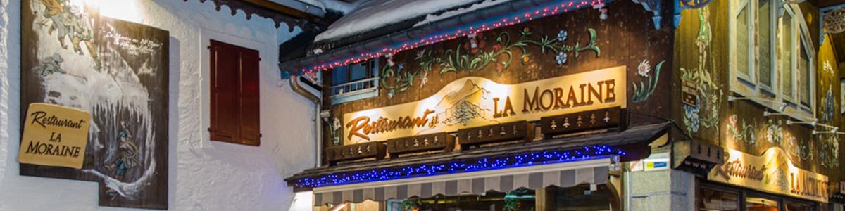 La Moraine Chamonix Banner